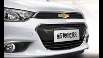 Este é o novo Chevrolet Sonic 2015 - veja primeiras fotos oficiais