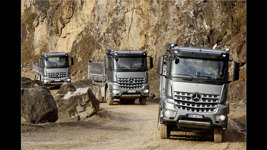 Daimler auf der Bauma 2016