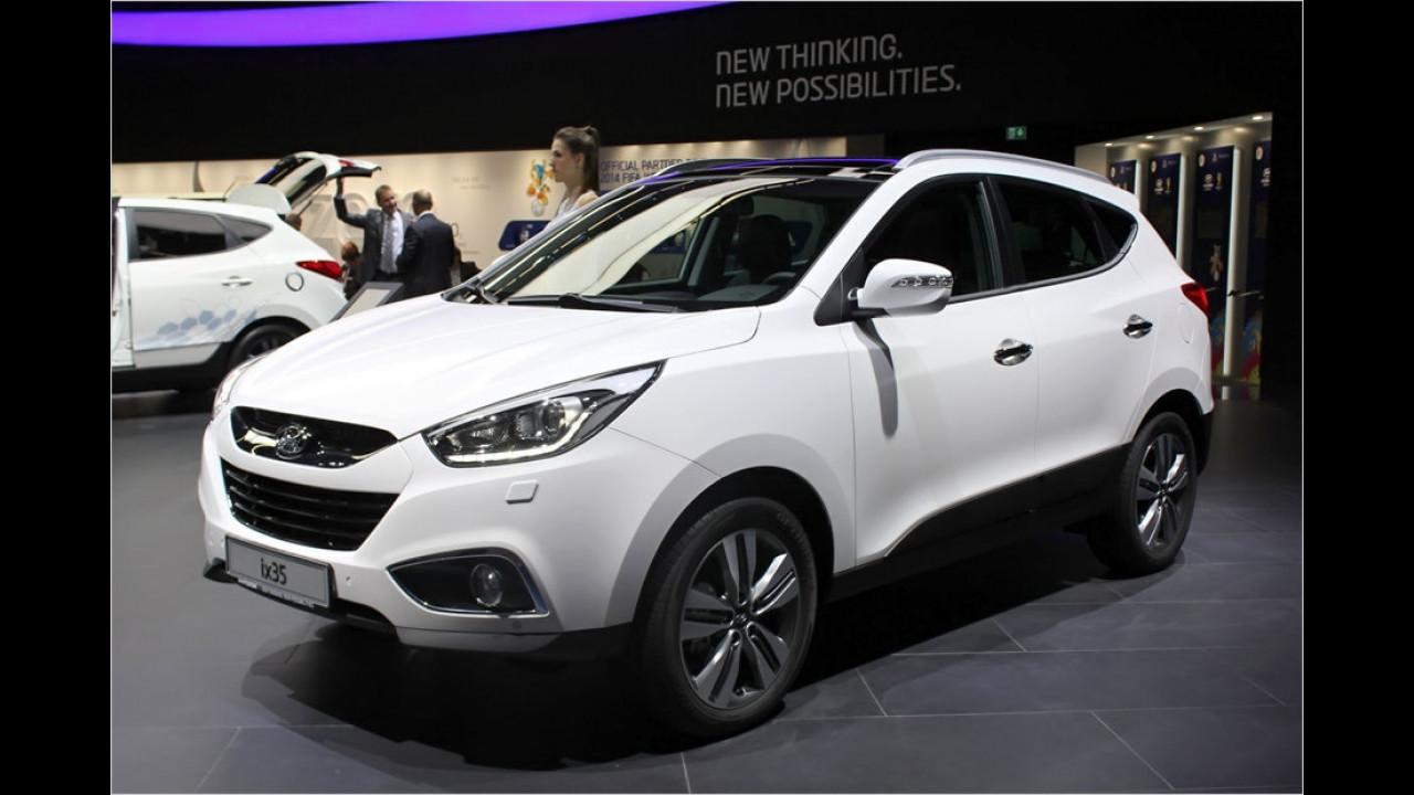 Hyundai ix35 Facelift