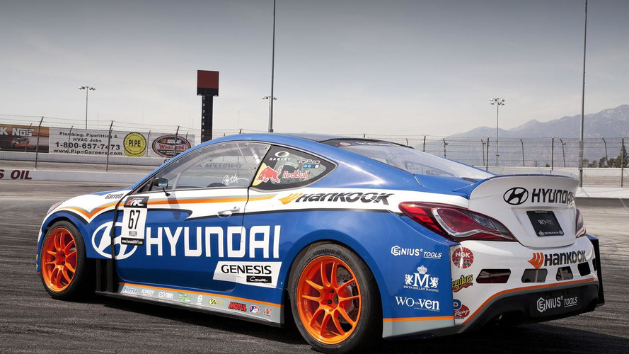 2013 Hyundai-RMR Genesis Coupe unveiled for the Formula Drift series