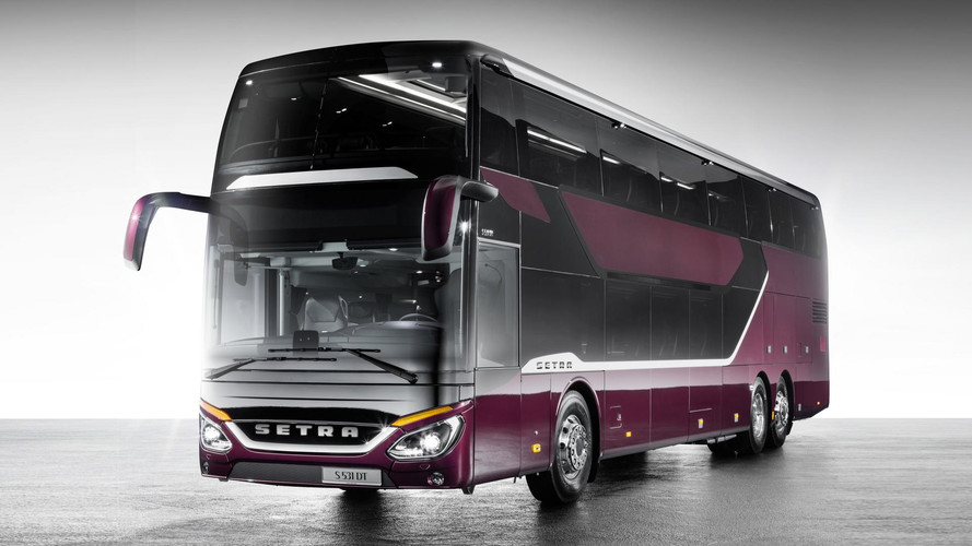 Setra Double-Decker Bus Has The Same Drag Coefficient As Focus RS