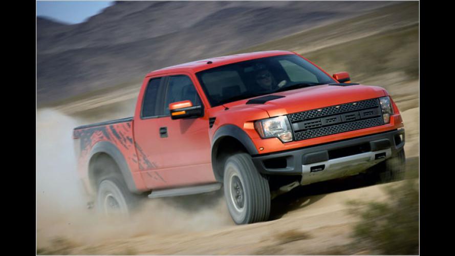 Vom Raptor zum Rapper: Ford auf der SEMA 2008