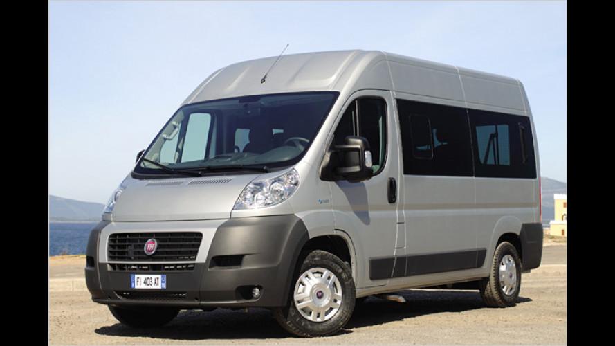 Fiat Ducato Natural Power: Transporter mit Öko-Note