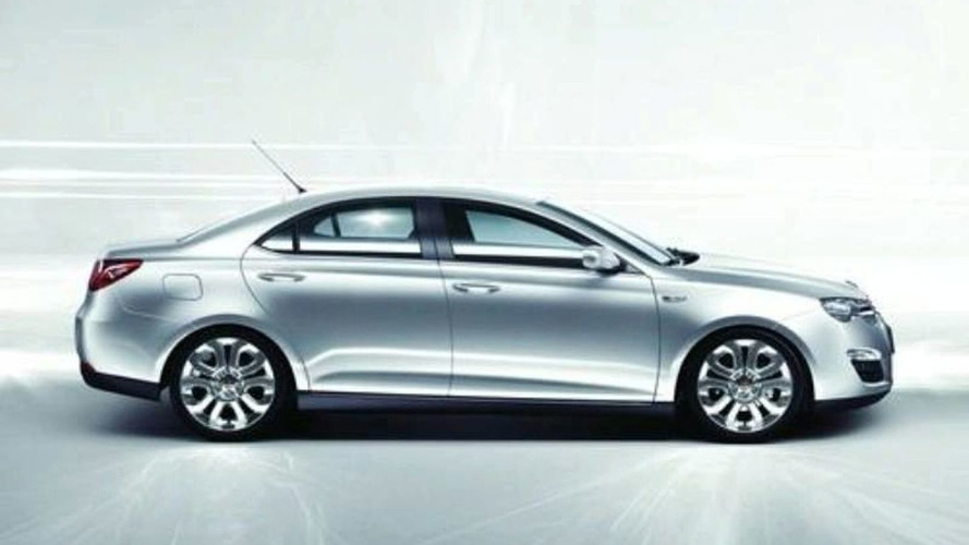 Roewe 550 Unmasked In Official New Shots