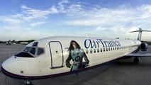 Danica Patrick AirTran Boeing 717-200