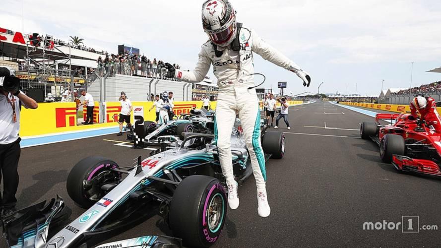 2018 F1 French GP: Hamilton Beats Bottas To Last-Gasp Pole