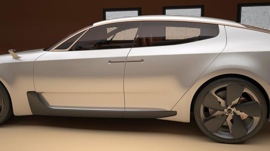 Kia previews new sports sedan concept ahead of Frankfurt