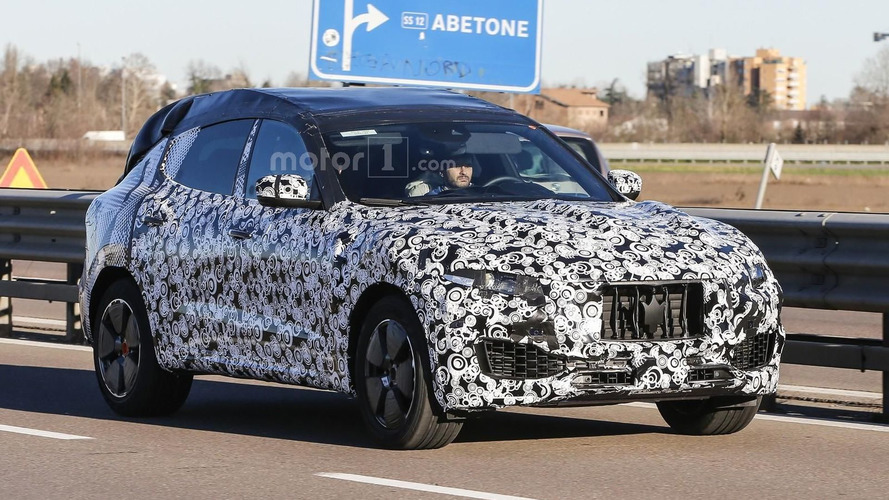 Maserati Levante spied showing new details