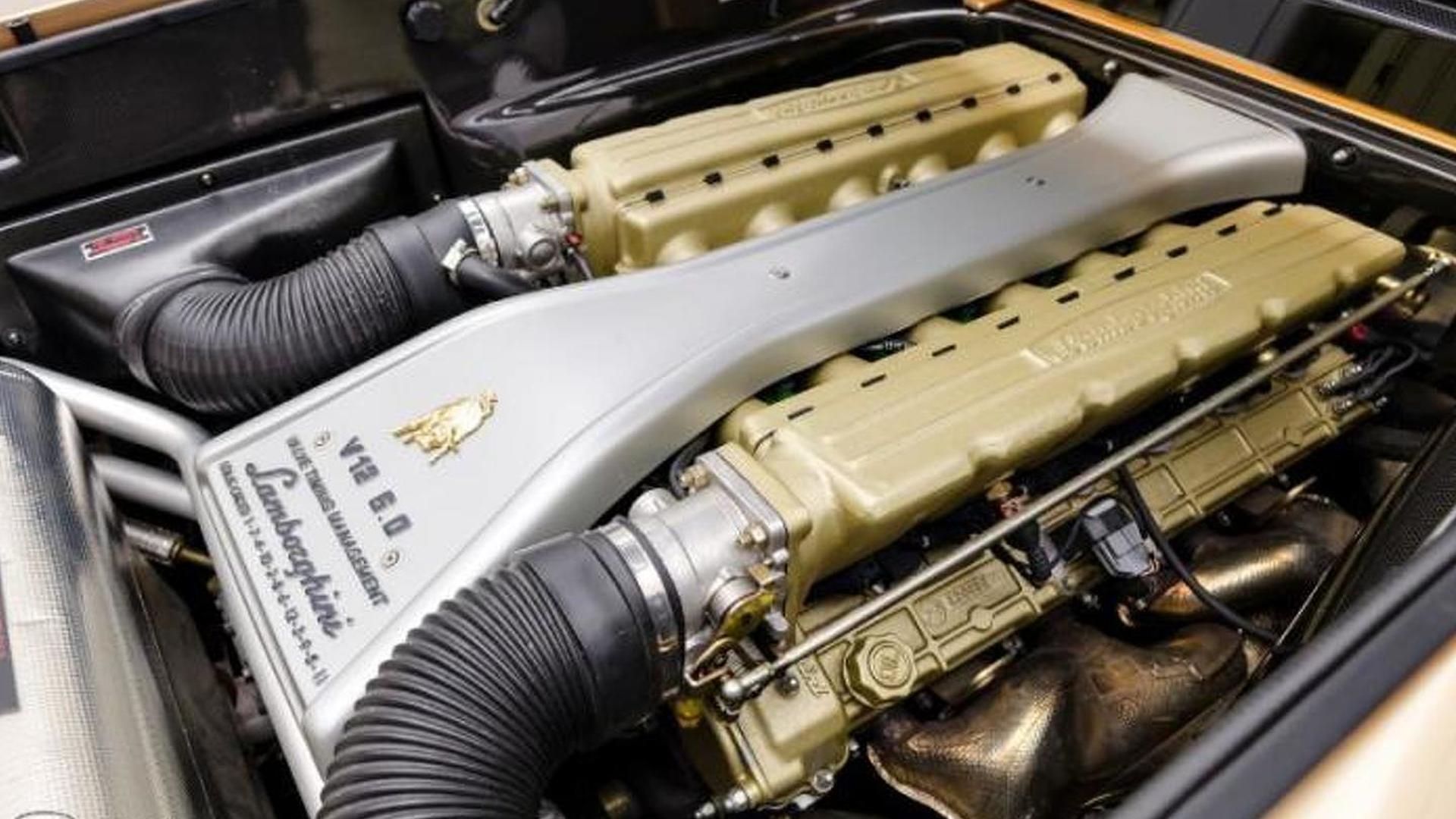 Мотор Lamborghini Diablo 6.0 SE
