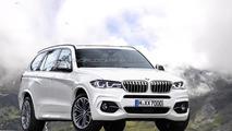 Rendu du BMW X7