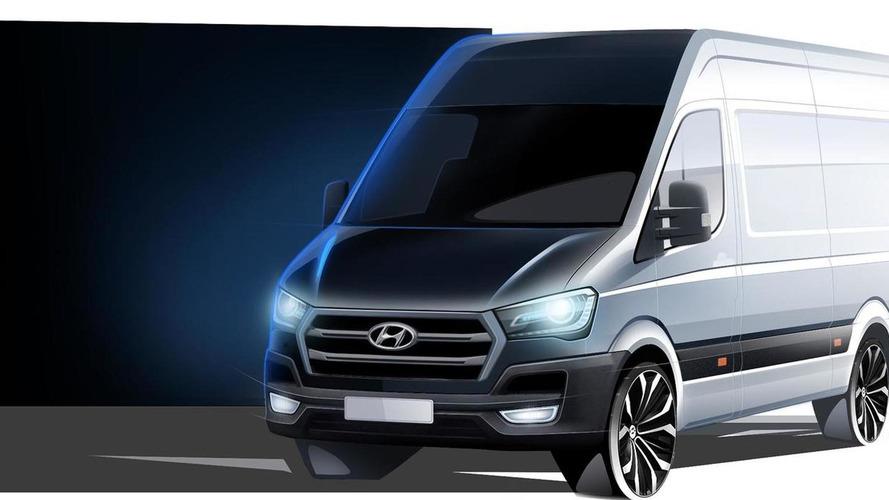Hyundai H350 cargo van teased ahead of September 24 full reveal