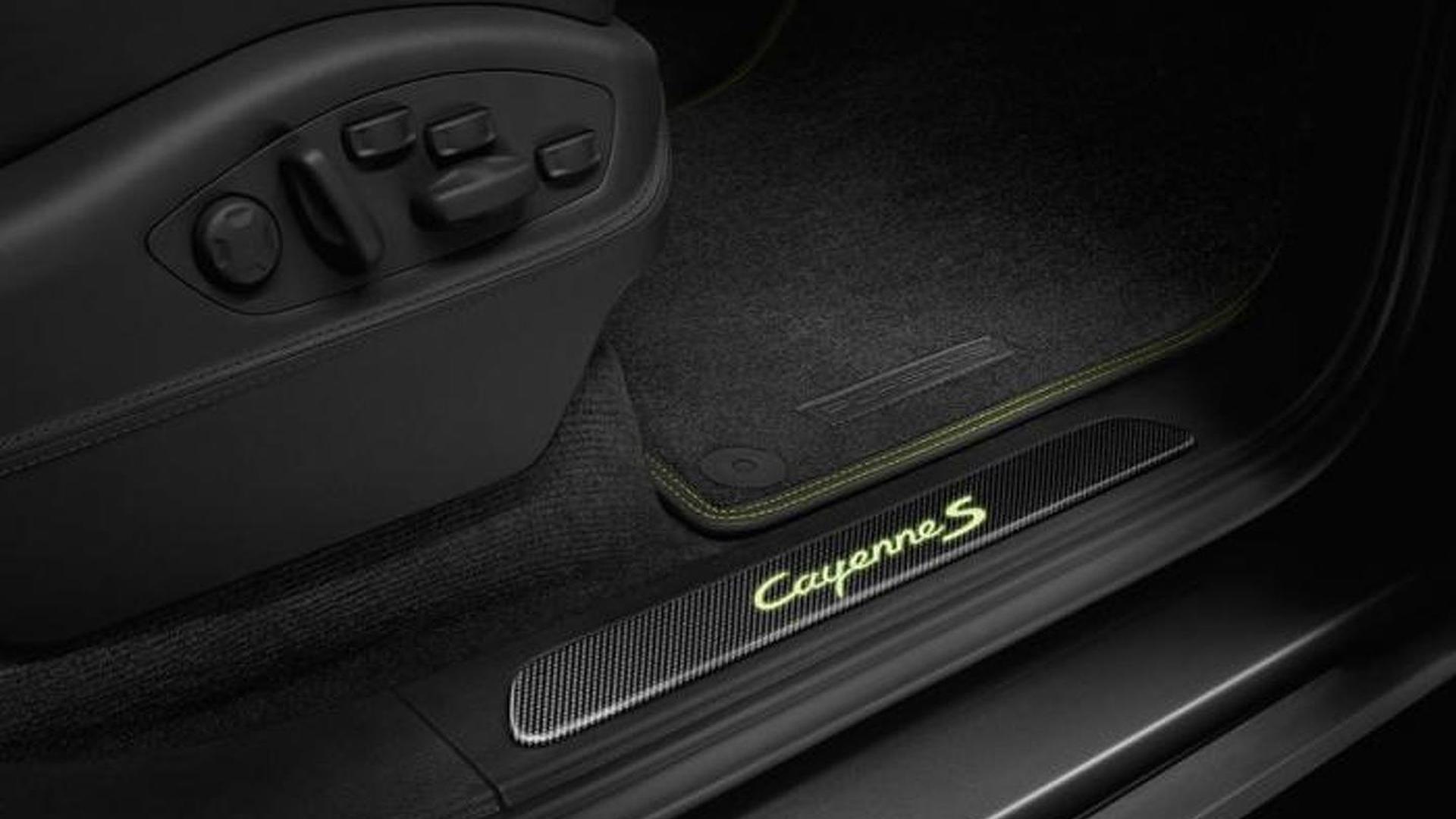 Регулировка сидений Porsche Cayenne S E-Hybrid