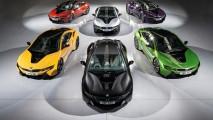 BMW i8 İngiltere'de yeni ve canlı renk seçeneklerine kavuştu