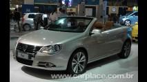 Leitor encontra conversível EOS no configurador da VW por R$ 159.900
