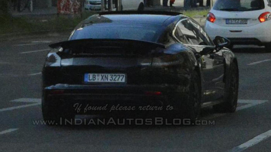 Porsche Panamera spied testing once again