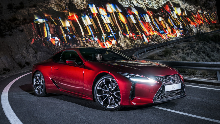 Lexus LC 500 moves a mountain in latest promo
