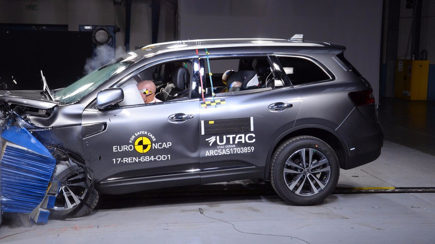 Adiado para 2018, Renault Koleos ganha 5 estrelas em teste de colisão
