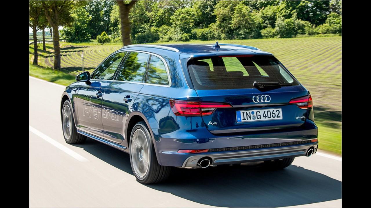 Audi A4 Avant g-tron (ab 40.300 Euro)
