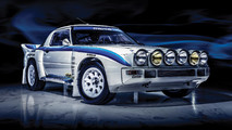 1985 Mazda RX-7 Group B Rally Car Auction