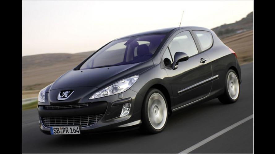 Peugeot 308: Mit Sparreifen und Euro-5-Diesel ins neue Jahr