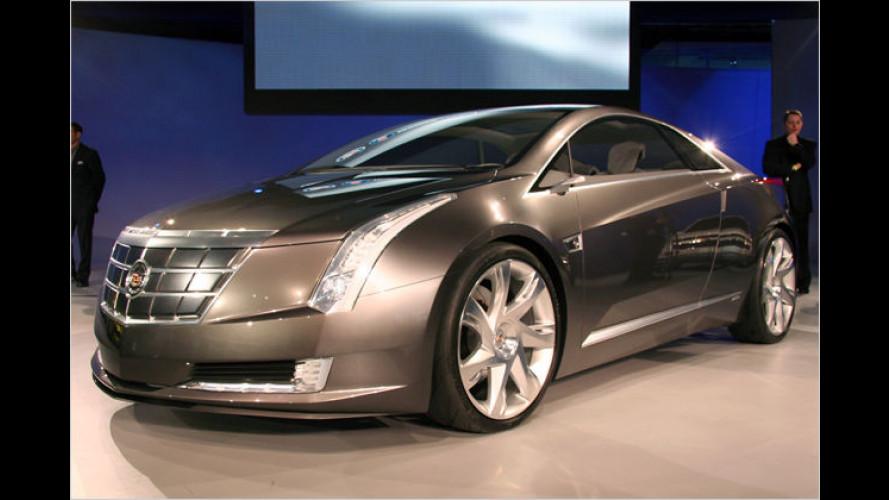Öko-Gleiter: Cadillac zeigt die Studie Converj