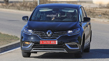 Renault Espace test mule spy photo