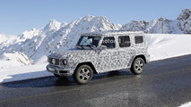 2018 Mercedes G-Class spy photo