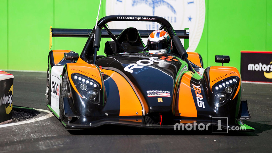 Alexander Rossi driving the Radical SR3 RSX