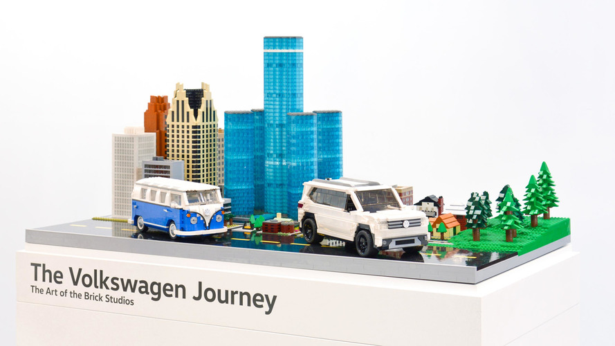 VW plays with Lego at Chicago Auto Show