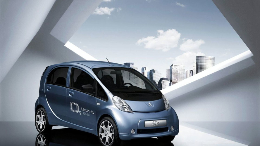 Peugeot iOn EV to Premiere in Frankfurt - based on Mitsubishi i-MiEV