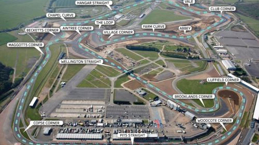 Grosjean not happy with new Silverstone layout