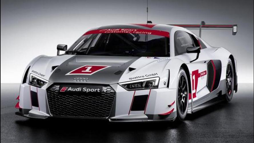 Audi R8 LMS, la nuova arma per le classi GT