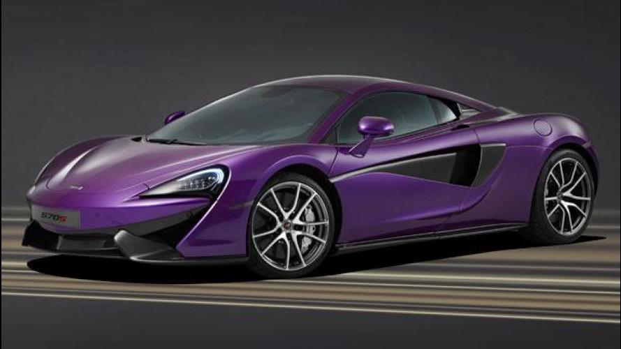 McLaren MSO, nuove