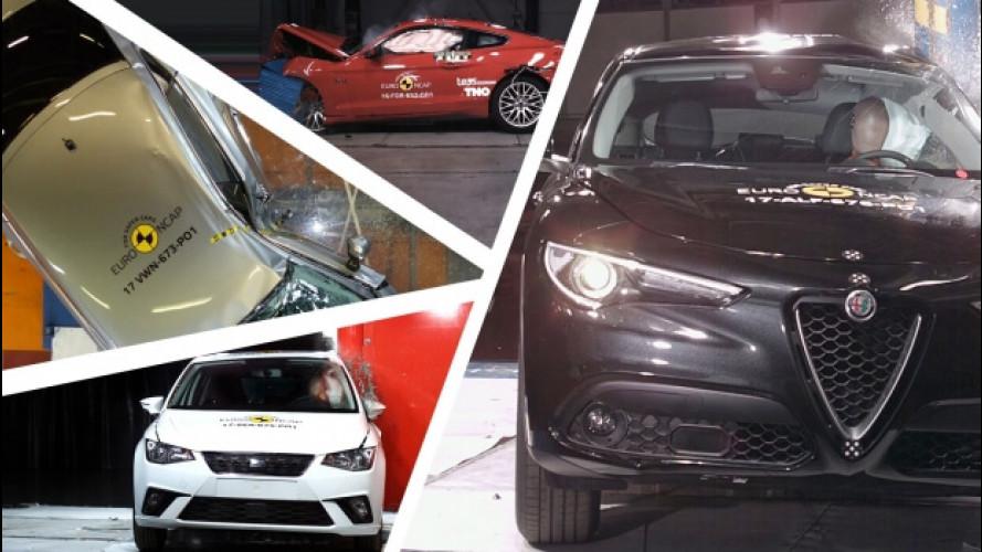 Crash test, 5 stelle a Stelvio, i30, Insignia, Ibiza e Arteon