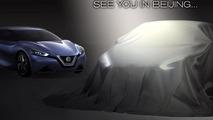 Beijing-bound Nissan sedan concept teased once again [video]