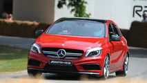 Mercedes A45 AMG at 2013 Goodwood Festival of Speed 12.7.2013