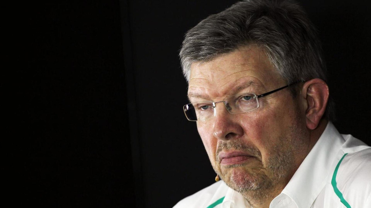 Ross Brawn 25.10.2013 Indian Grand Prix