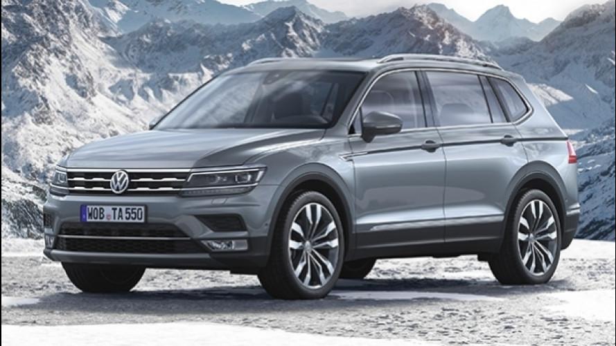 Volkswagen Tiguan Allspace, il SUV allunga il passo