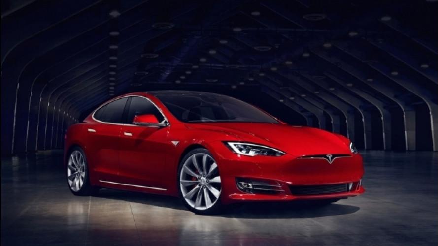 Tesla Model S P100D, più rapida della Ferrari F12 in accelerazione