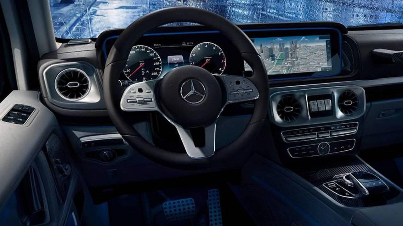 2019 Mercedes Benz G Class Interior Photo