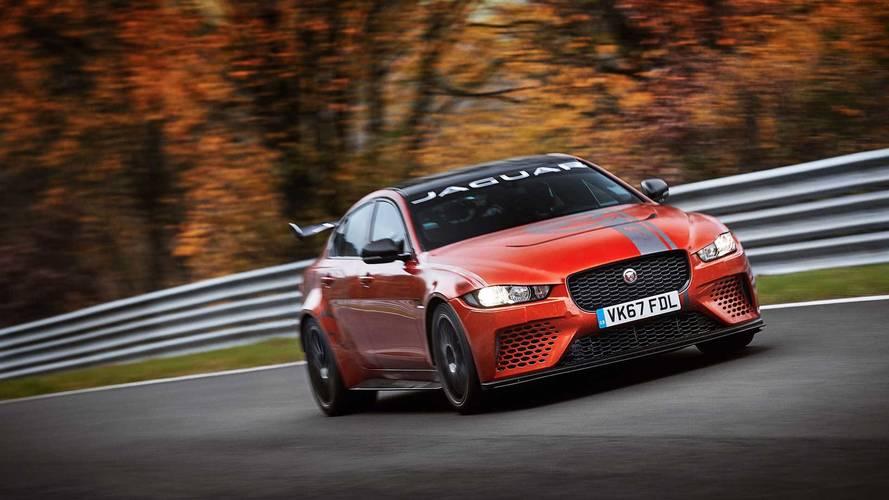 Watch Jaguar XE SV Project 8 Destroy The Nürburgring Sedan Record