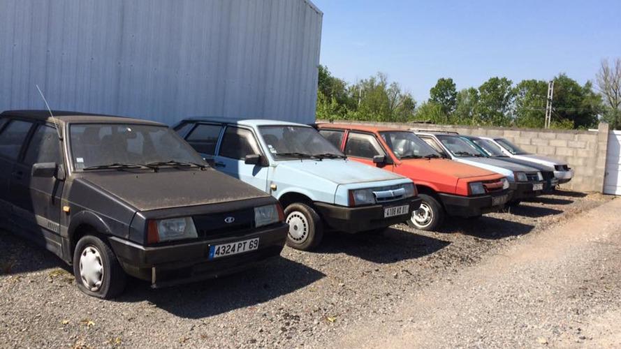 Abandoned Lada Dealership Found In France