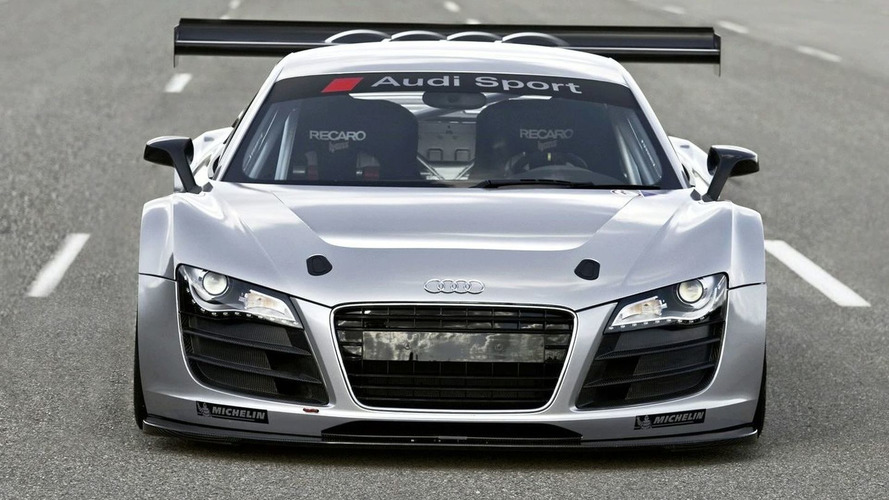 Audi Creates GT3 Race Version of the R8