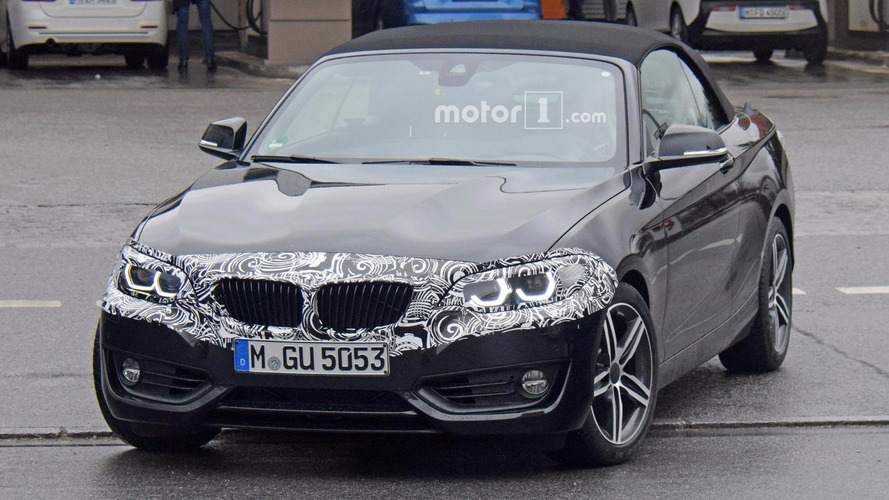 BMW 2 Series Convertible Refresh Spy Photos