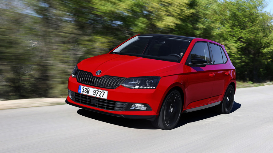 2017 Skoda Fabia with 1.0 TSI engine