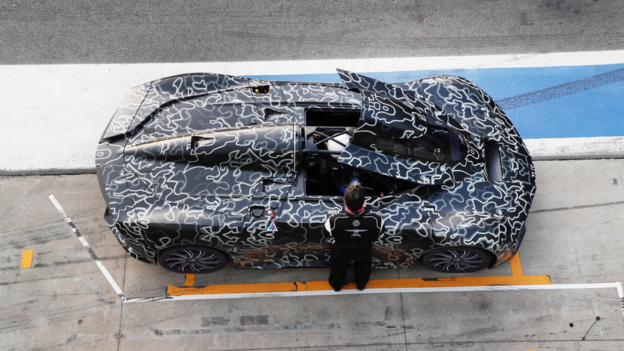 Techrules supercar caught testing at Monza