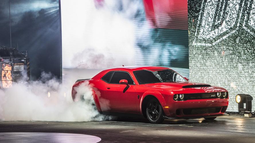 Dodge Challenger SRT Demon 2019'da üretilmeyecek