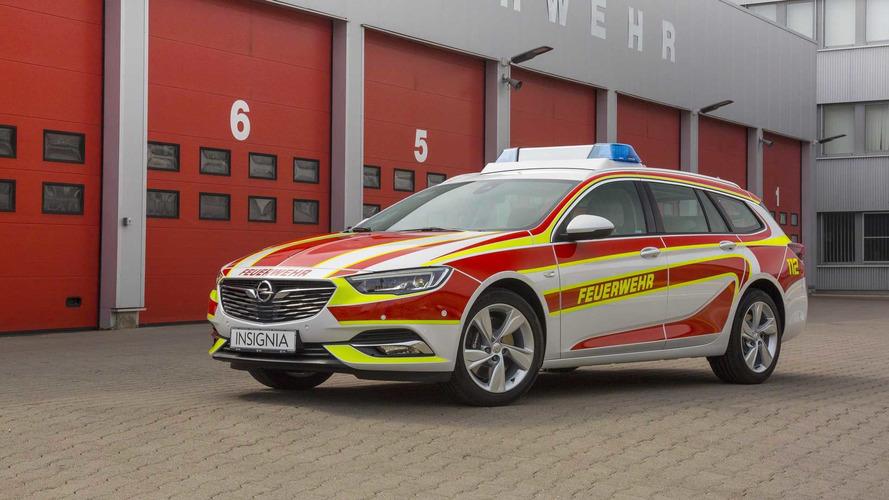 Los bomberos alemanes estrenan este Opel Insignia Sports Tourer