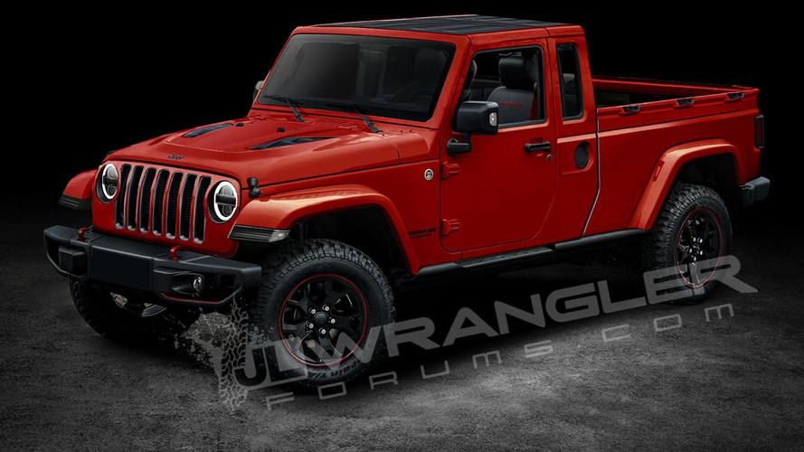 Jeep Wrangler pick-up'ın adı