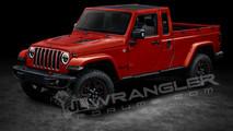 2018 Jeep Wrangler Pickup render